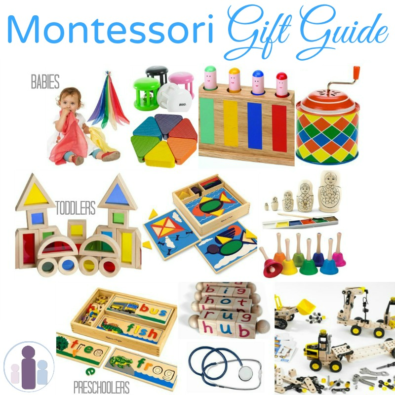 montessori gifts for babies toddlers and preschoolers